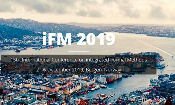 International Conference on integrated Formal Methods iFM 2019